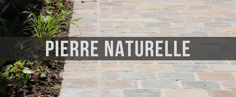 Bandeau pierre naturelle