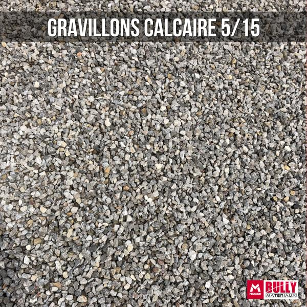 Gravillons calcaire 5/15