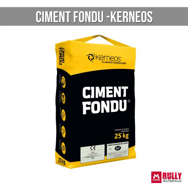 Ciment fondu kerneos