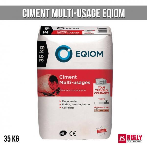 Ciment multi usage eqiom 35kg
