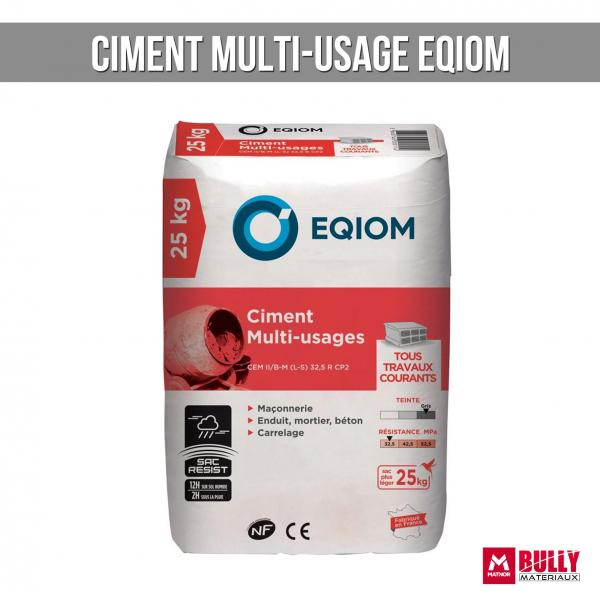 Ciment multi usage eqiom