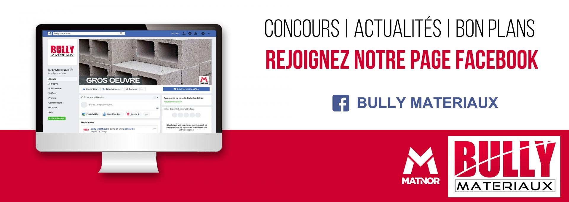 Facebook bully materiaux