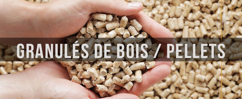 Granules de bois / pellets