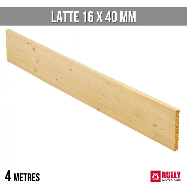 Latte 16 x 40 4m