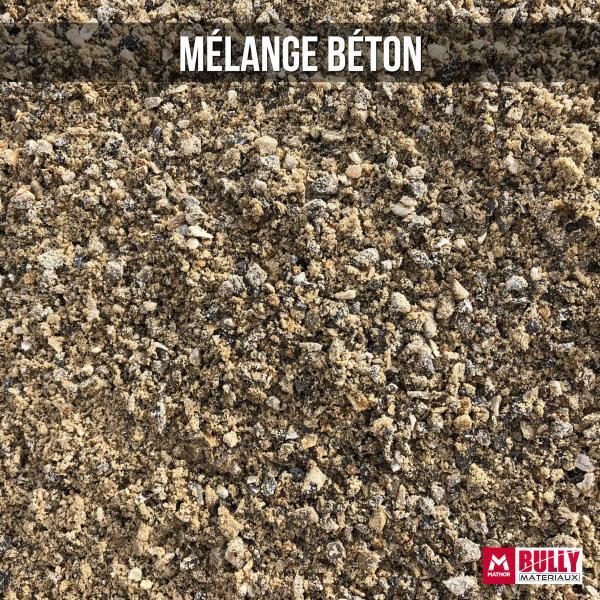 Mélange Béton