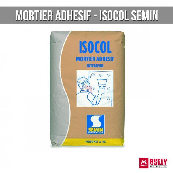 Mortier adhesif isocol semin