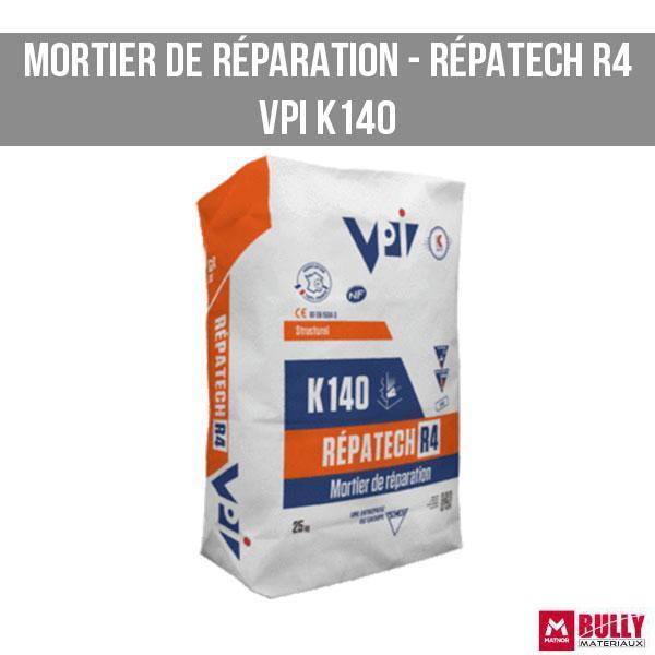 Mortier de reparation repatech r4 vpi
