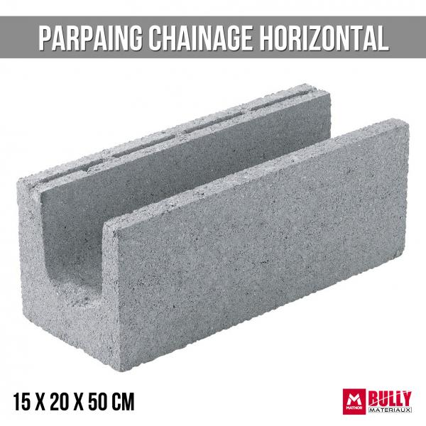 Parpaing ch horizontal 15