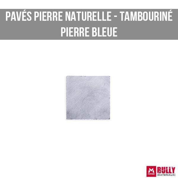 Pave tambourine pierre bleue 1