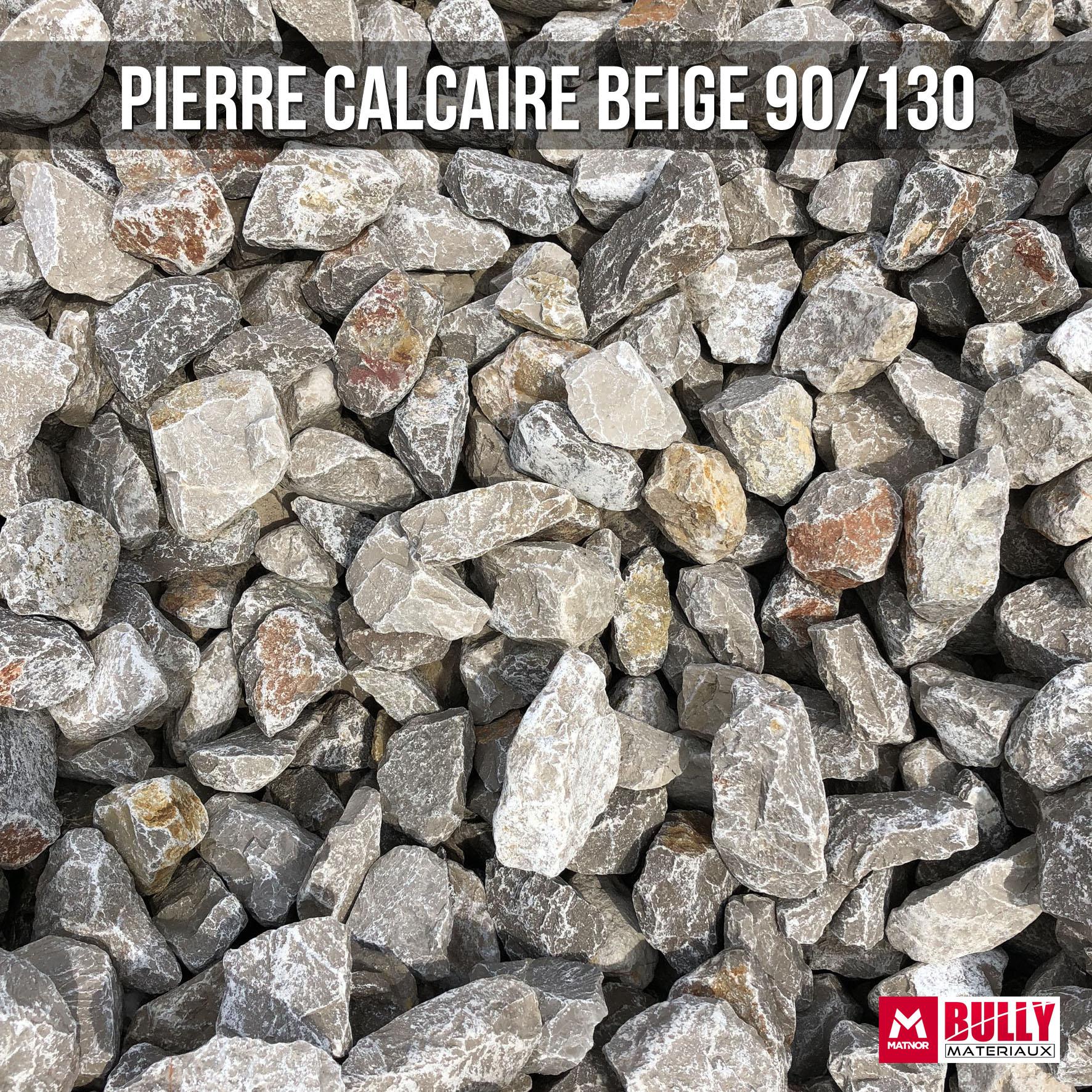 Pierre calcaire beige 90/130