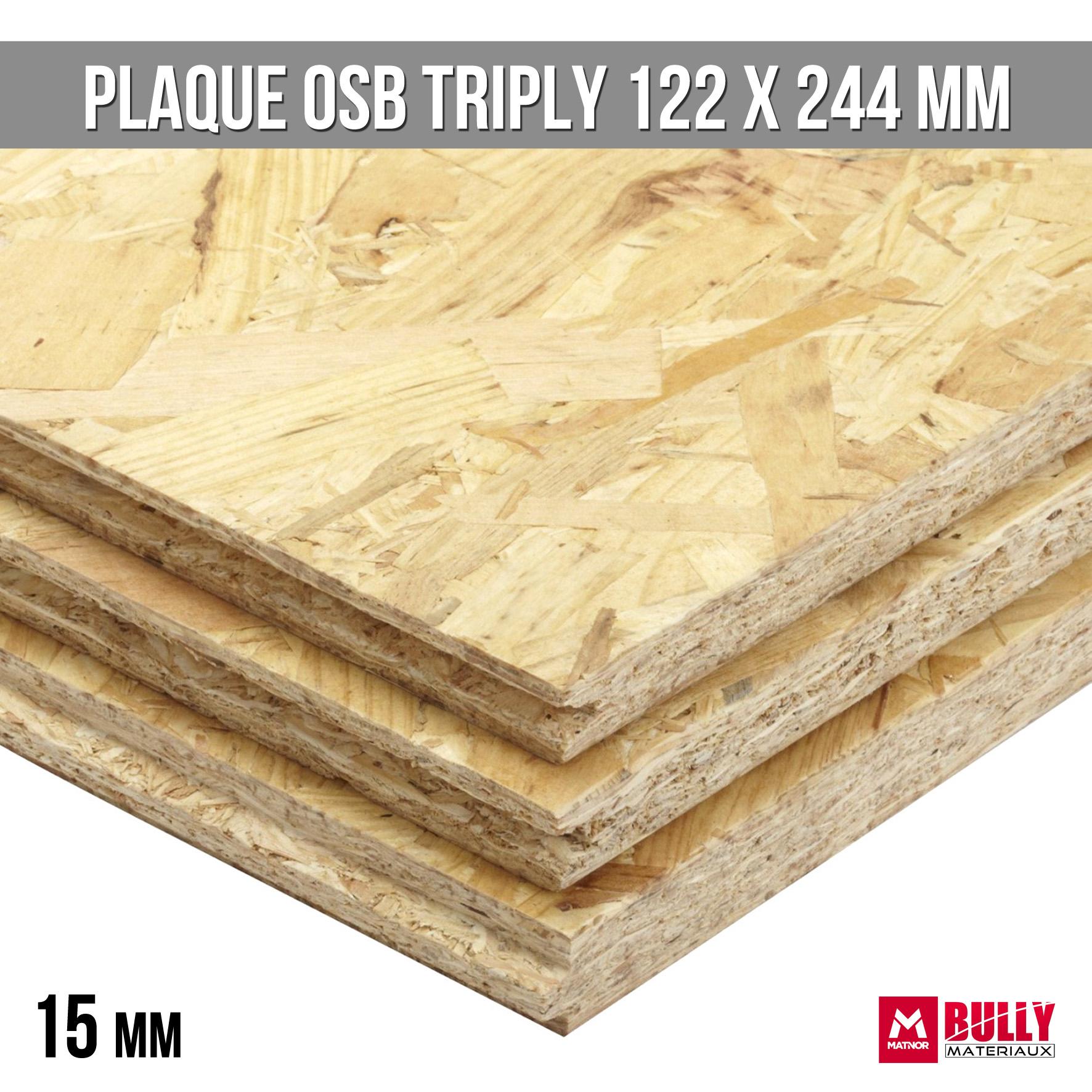 Plaque osb triply 15mm