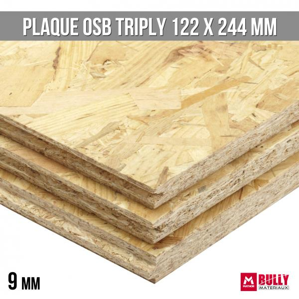 Plaque osb triply 9mm