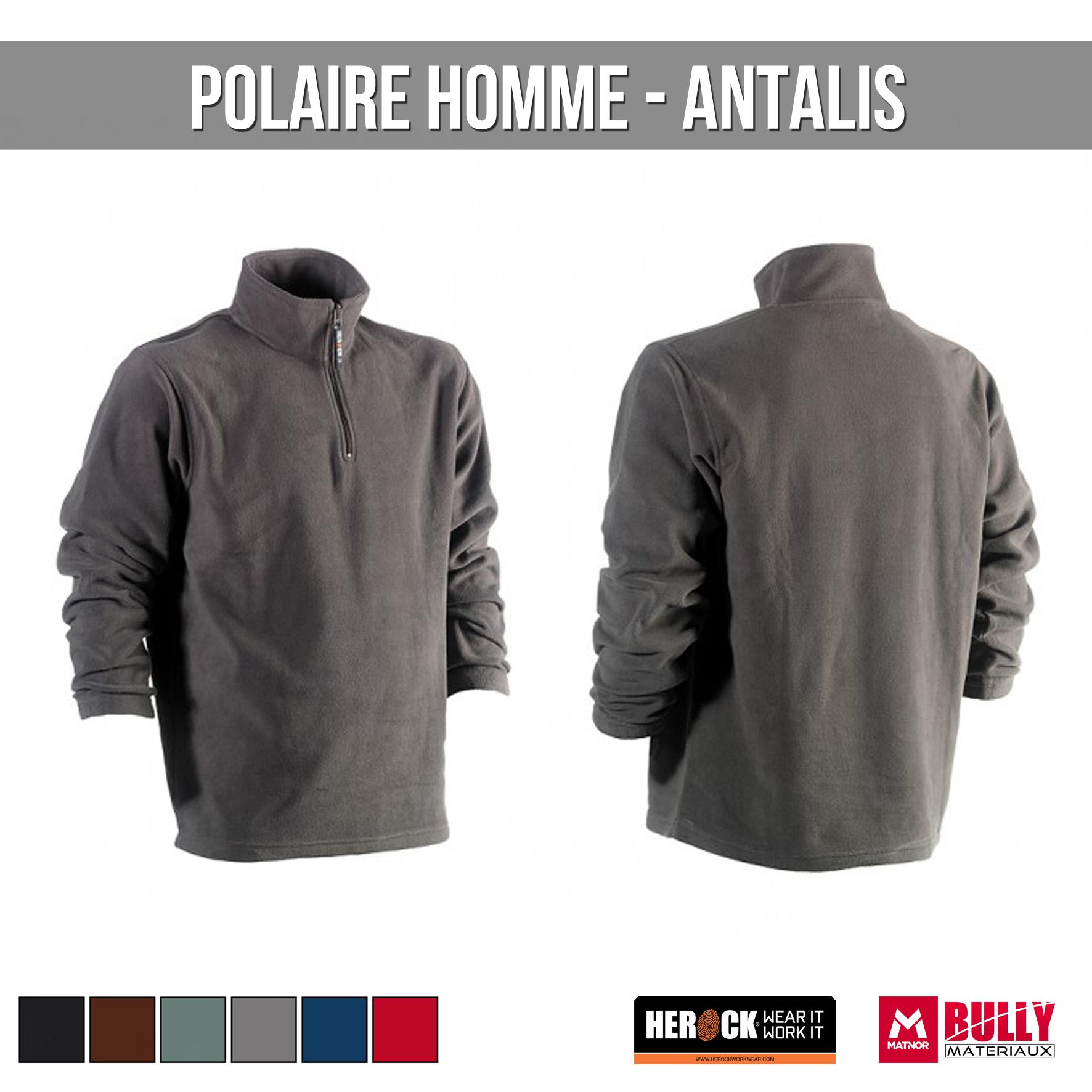 Polaire homme antalis