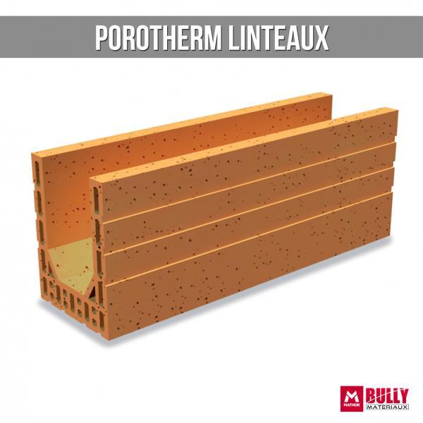 Porothem linteaux