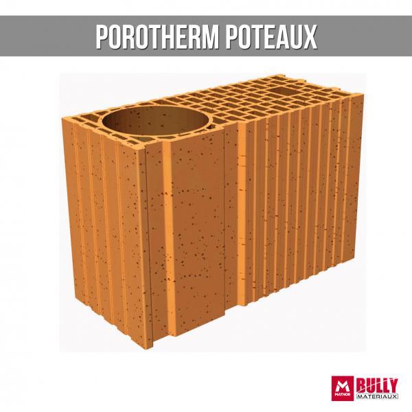 Porothem poteaux