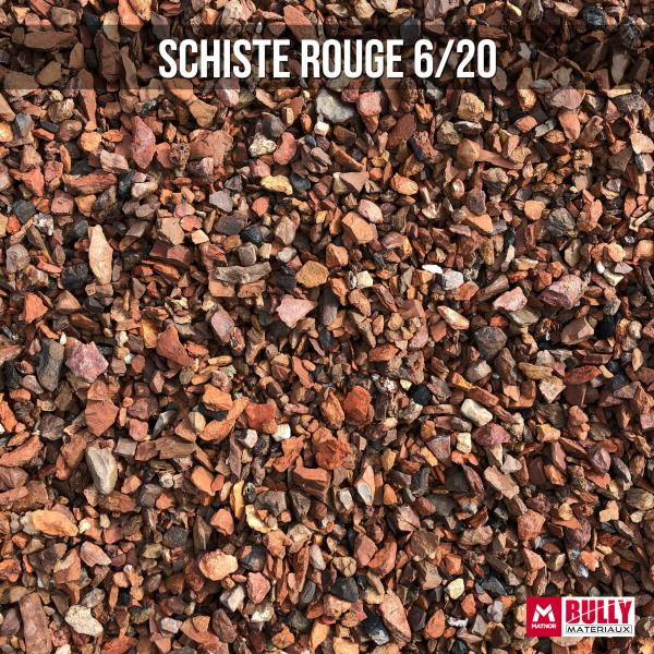 Schiste rouge 6/20